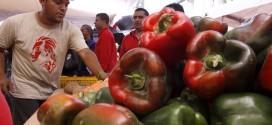 Alimentos en mercado