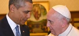 Obama y el papa Francisco