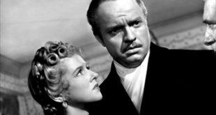 Dorothy Comingore y Orson Welles en Ciudadano Kane 1