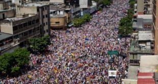 Marcha del 1 de septiembre de 2016 Caracas