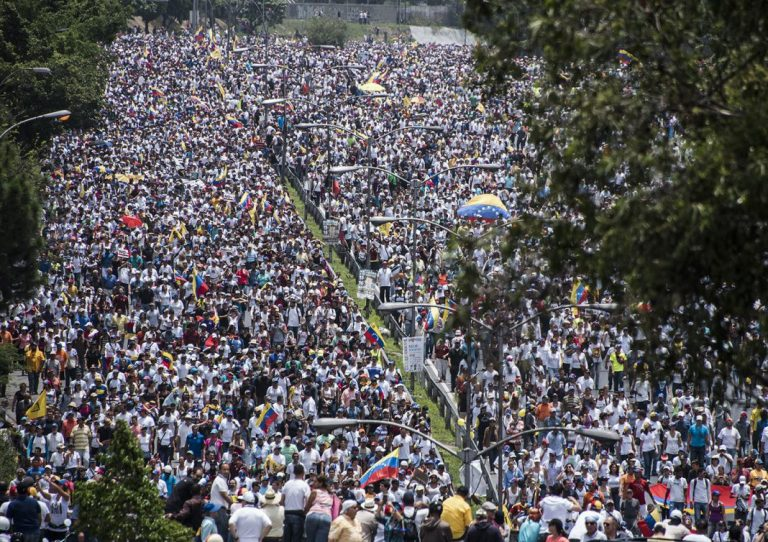 Manifestaciones de protesta 1