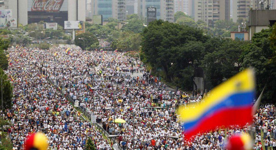 Protestas en Venezuela 3