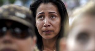 Mujer venezolana en las calles