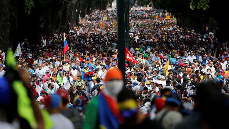 Protestas en Venezuela 5