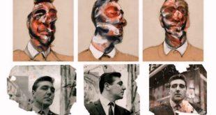 Tres estudios para un retrato de George Dyer 1