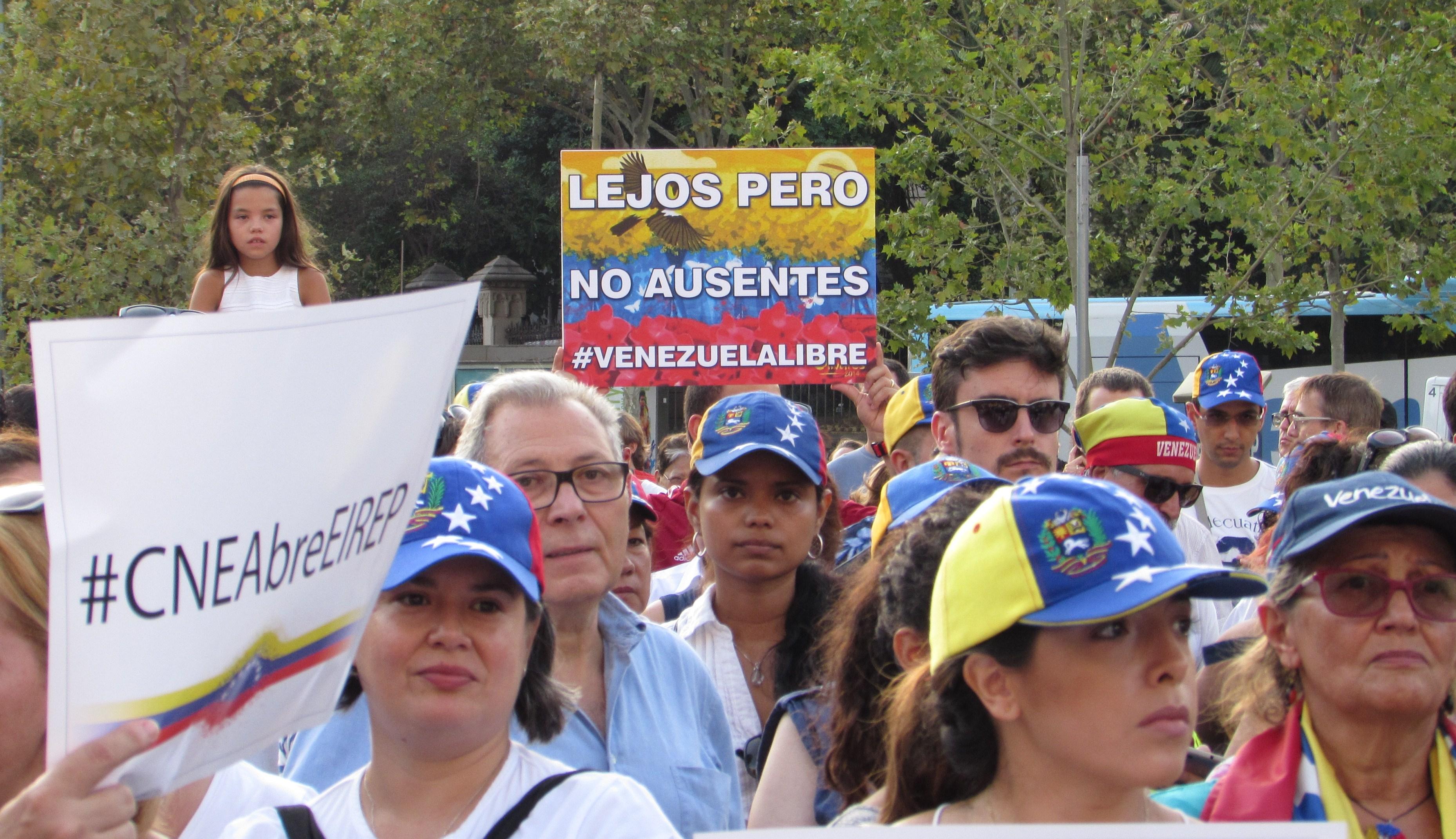 con las heridas abiertas los indignados venezolanos en el
