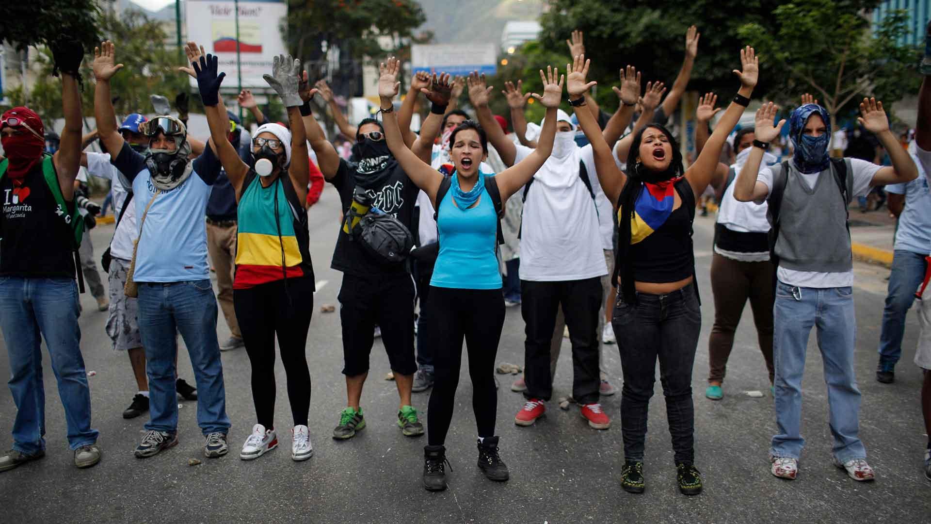 Protestas en Venezuela 7