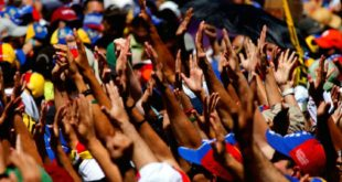 Venezolanos protestan 1