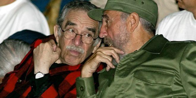 Fidel Castro (right) and Gabriel Garcia Marquez in Havana in 2002