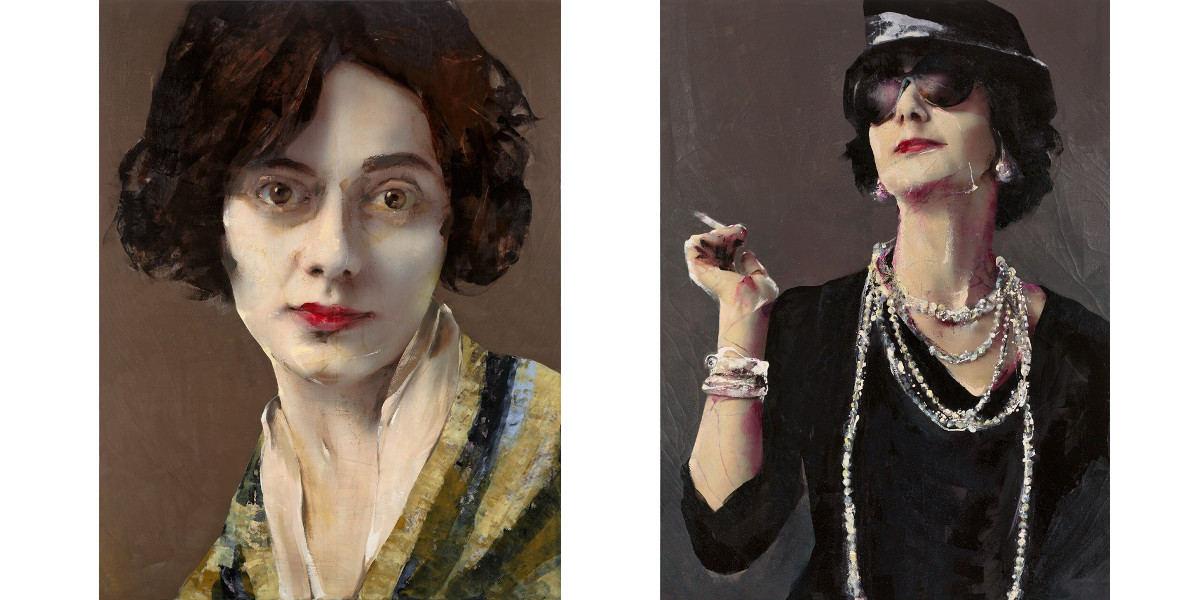 Lita Cabellut y Coco Chanel