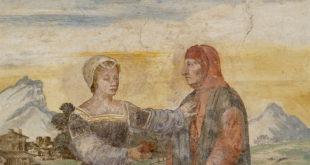 Laura y Petrarca