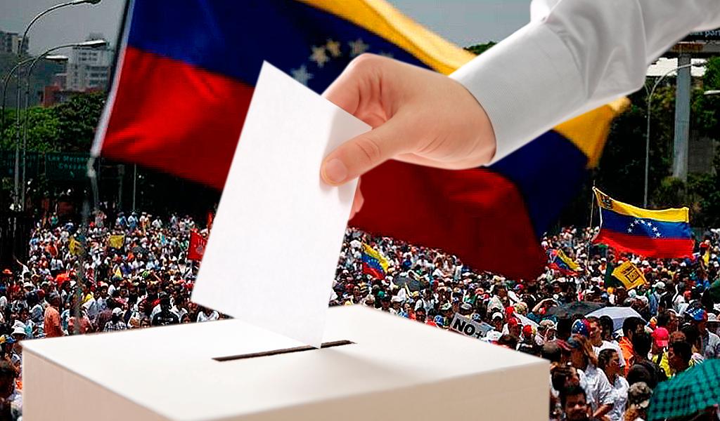 Venezolano votando 1