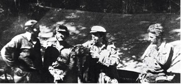 El Che y Debray en Bolivia