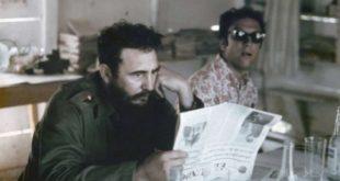 Fidel Castro y Saul Landau en Cuba