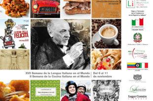 Semana de la literatura y la cocina de Italia