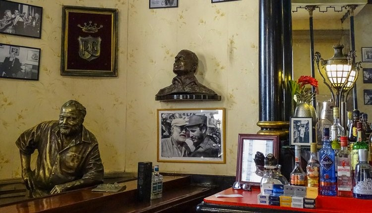 Hemingway en El Floridita