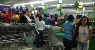Saqueos en el supermercado 1