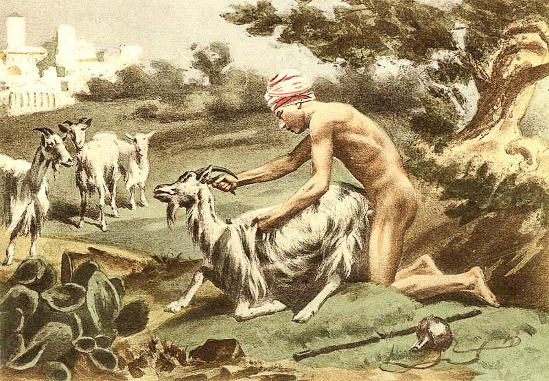 Bestialismo con cabra en el Medio Oriente