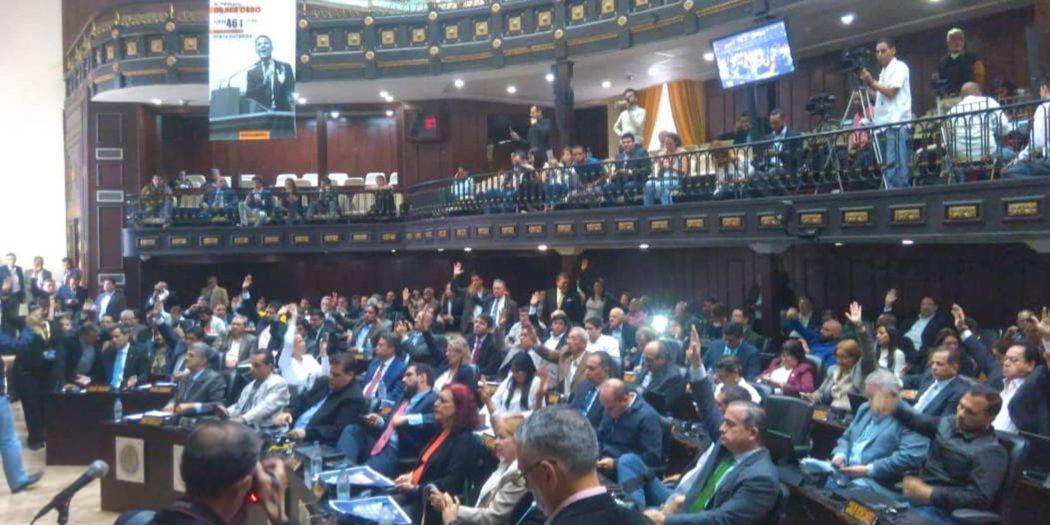Asamblea Nacional y juicio a Maduro