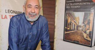 Leonardo Paduro y La transparencia del tiempo