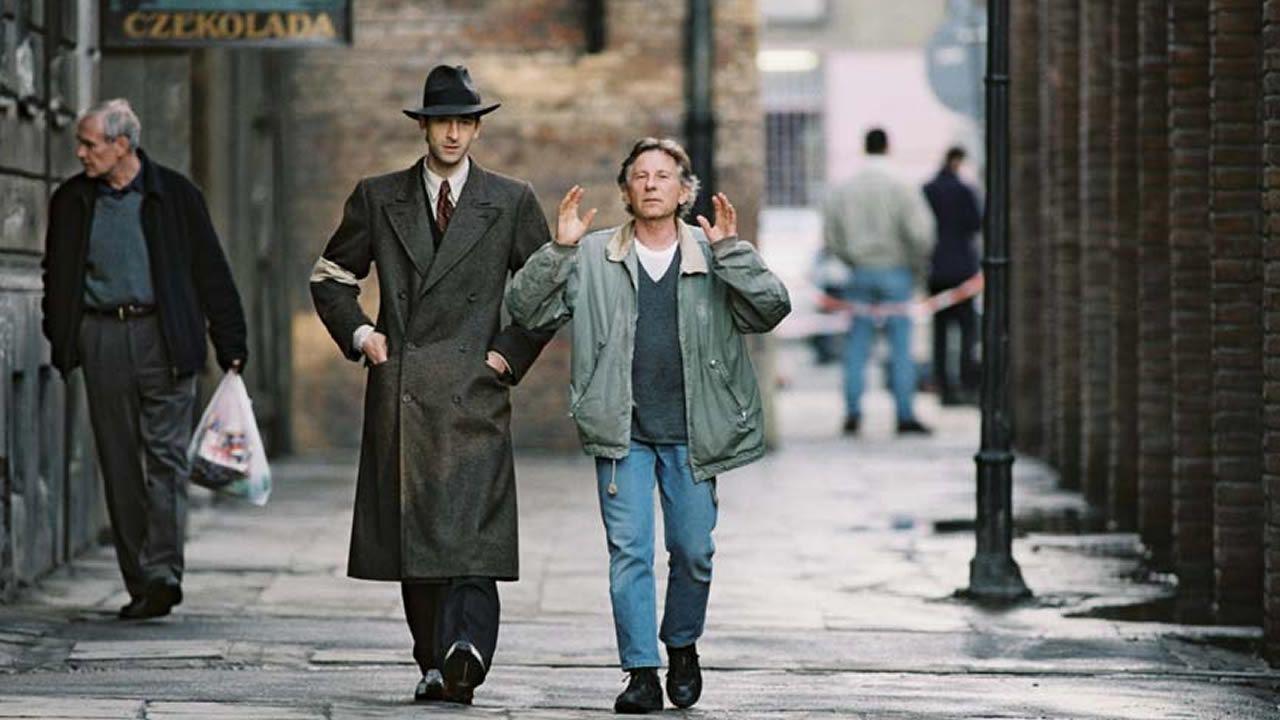 Polanski en el rodaje de El Pianista