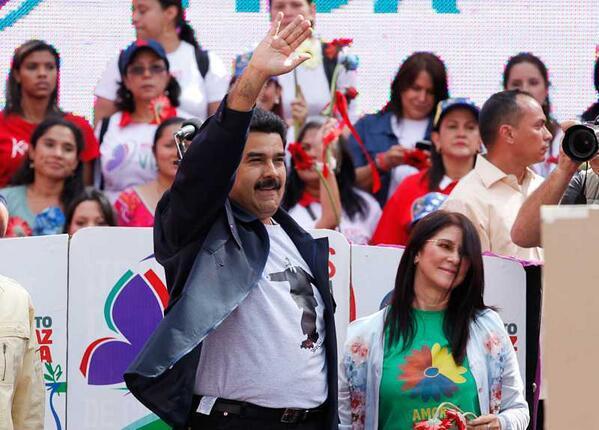 Maduro y mujeres