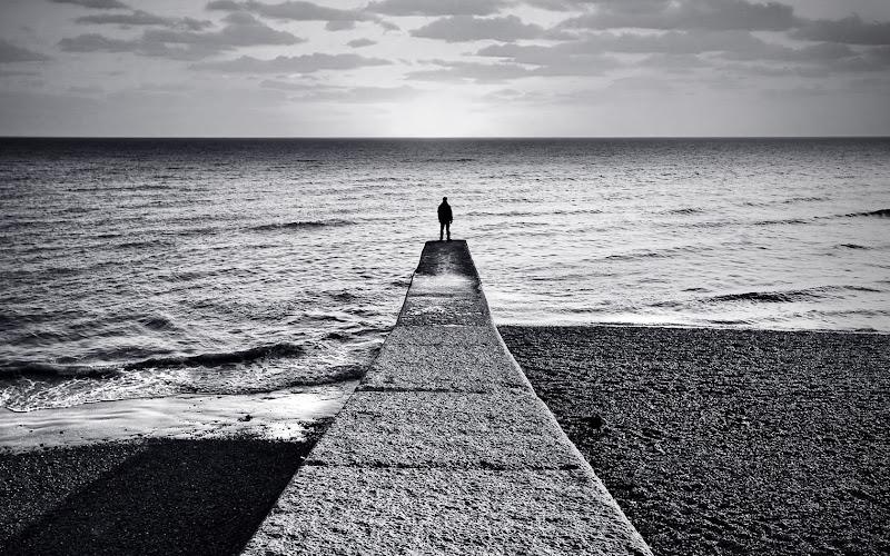 Mirar al horizonte