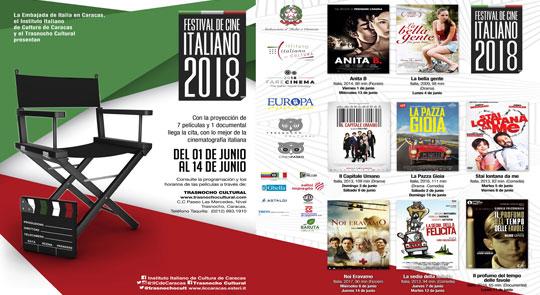 XIV Festival de Cine Italiano 2018