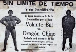 Cartel promocional de la lucha libre