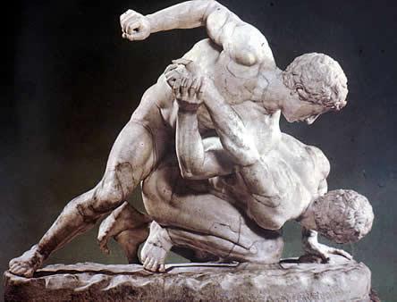 Lucha greco romana