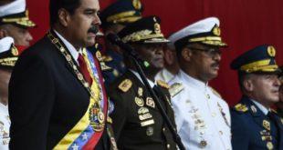 Maduro y militares 1