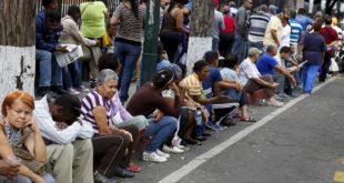 Pensionistas venezolanos