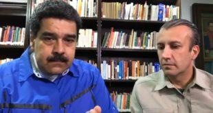 Maduro y El Aissami