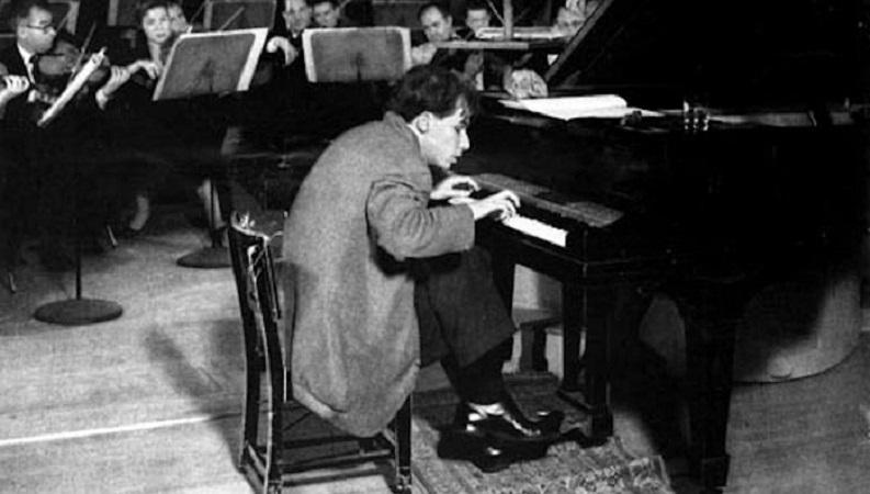 Gould en concierto