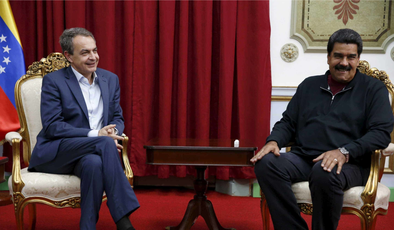 Zapatero y Maduro 1