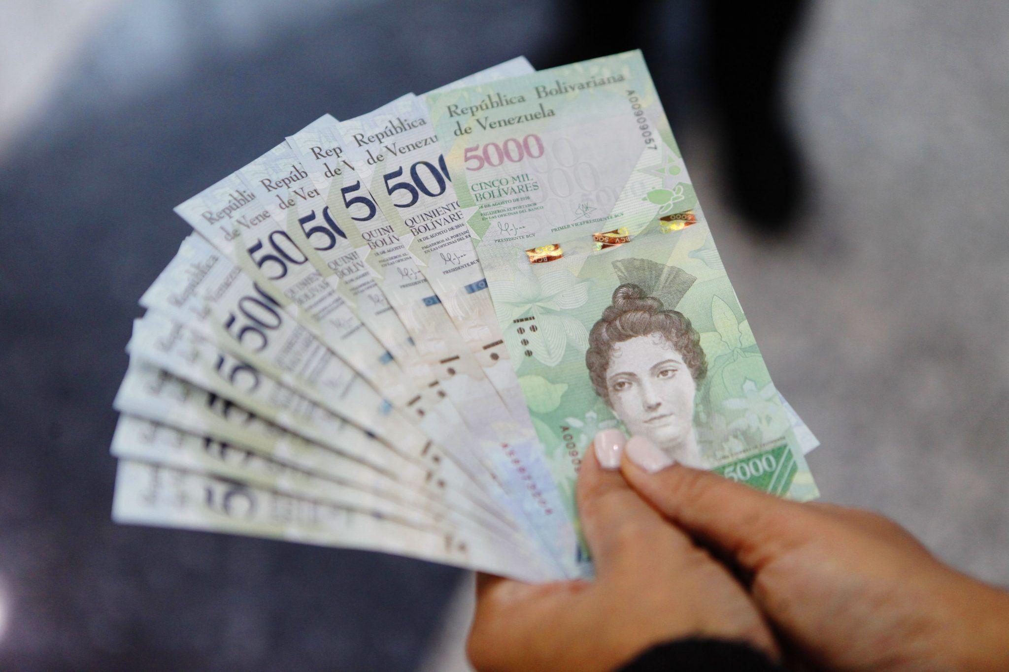 Billetes venezolanos 1
