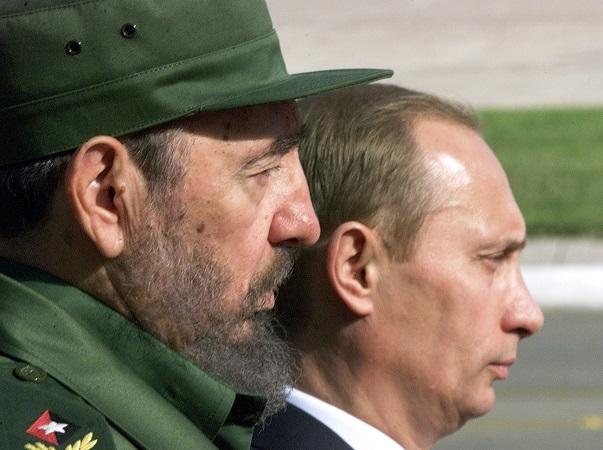 Castro y Putin