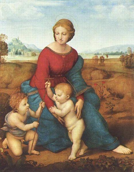 Madona del Jilguero, Rafael