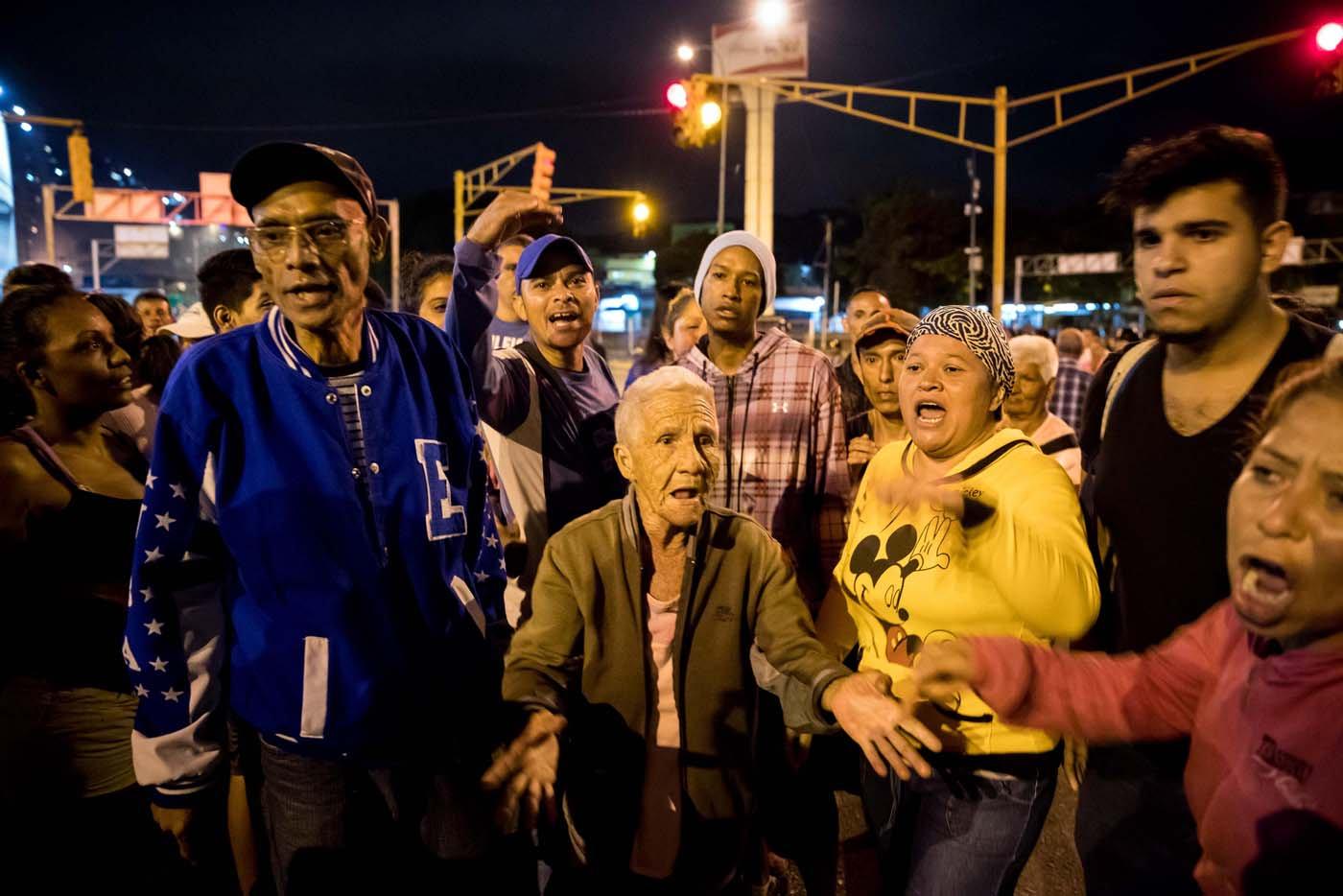 Protestas por el pernil