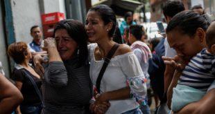 Familia venezolana en crisis