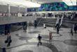 Grand hall de partida de la estación de Montparnasse, París SNCF-Médiathèque - Derechos reservados © Adagp, Paris, 2018. Cortesía del  Centre Pompidou.