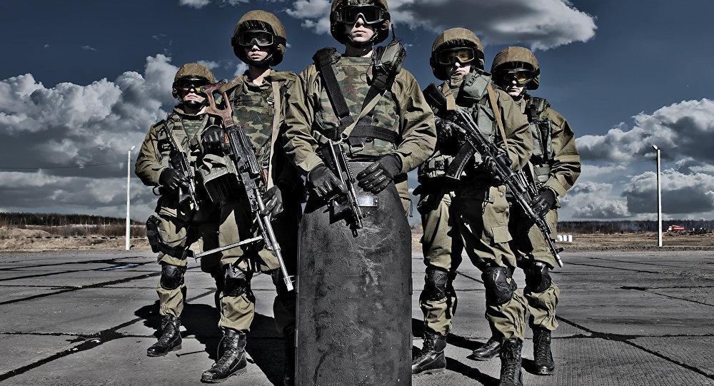 Fuerzas especiales rusas