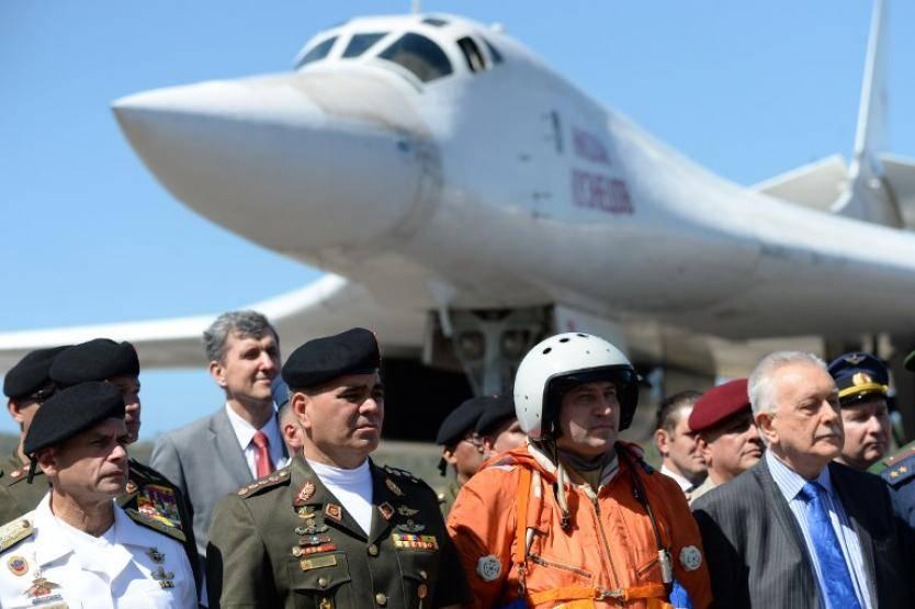 Militares rusos en Venezuela