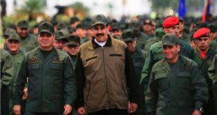 Maduro y alto mando militar