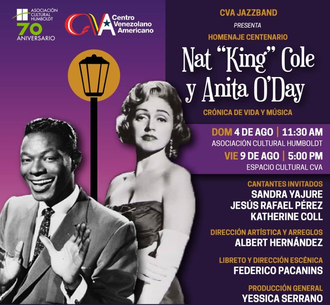 Nat King Cole y Anita O'Day