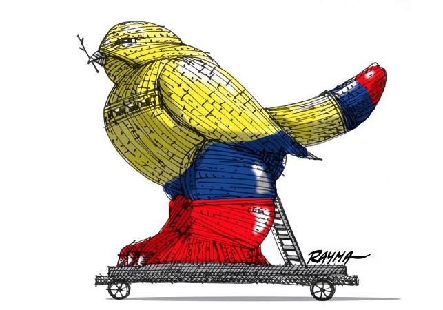 Caricatura de Rayma