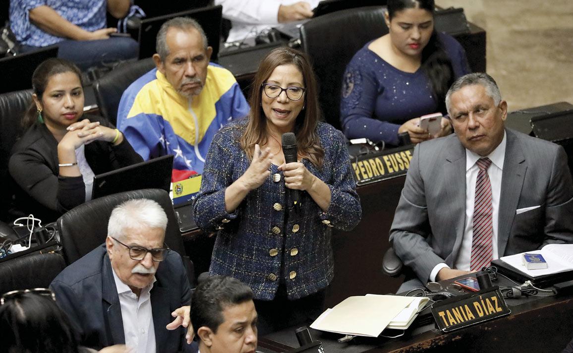 Chavistas en la Asamblea Nacional