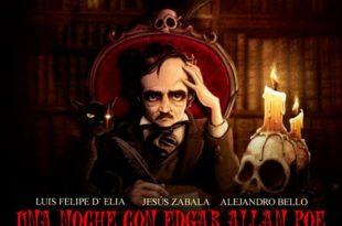 Una noche con Edgar Allan poe